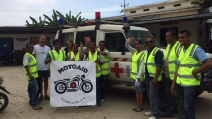 MotoAid's first graduates